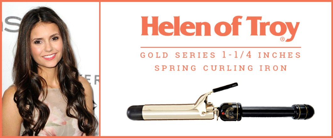 Gold Series 1-1/4'' Spring Curling Iron