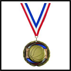 """Basketball Medal (CEM) - 2-1/2"""""""
