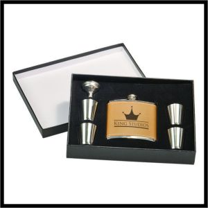 Flask Boxed Set - 6 pc.