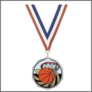 Basketball Medallions