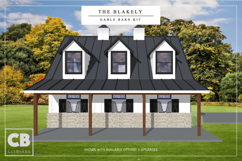 The Blakely 40 Barn Kit
