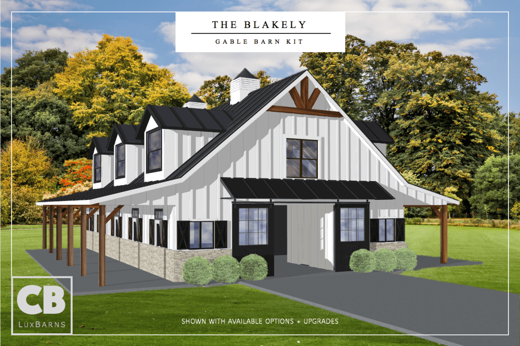 Blakely 65' barn kit