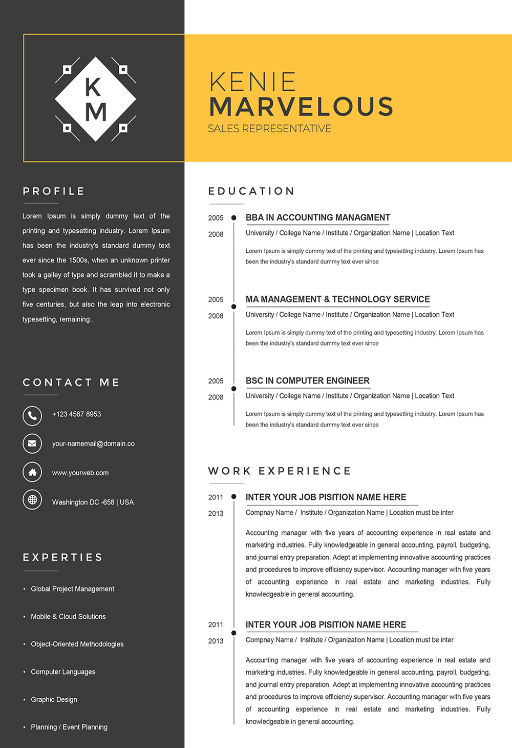 What do you do when an unexpected job opportunity arises and you don't have the luxury of spending a lot of time making it current? Sample Resume Nurse Word Format to Download
