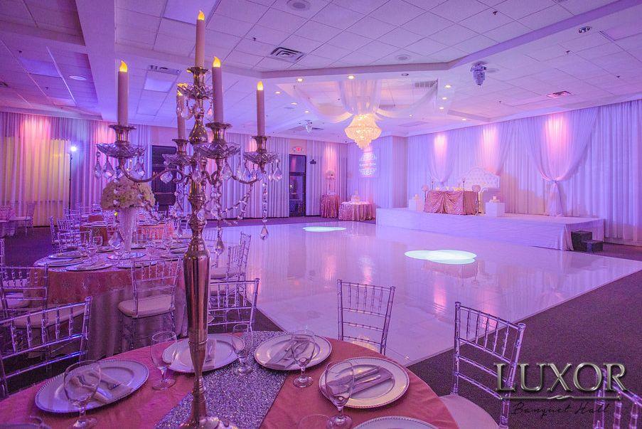 Luxor Banquet Hall  Wedding and Quinceanera Reception Hall Carrollton TX  My Dallas Quinceanera