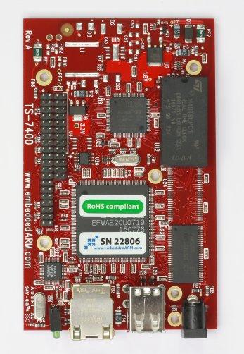 TS7400 Board
