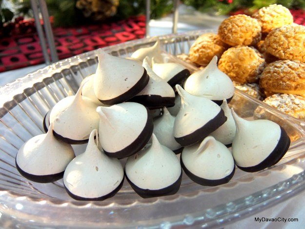 Espresso Meringue Kisses by JR Pastry at the Davao Gourmet Collective Festive Food Holiday Market