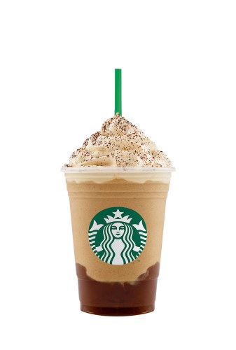 New Starbucks Frappuccino Blended Beverage: Irish Cream Coffee Pudding