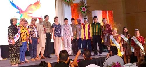 Mayor Inday Sara Duterte with the Deputy Mayors of the 11 Indigenous Tribes of Davao at the Kadayawan 2017 Media Launch. Photo by John Llamas of Juan Hobo.