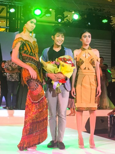 Jay-R Flores of Sultan Kudarat is the Moda Mindanao 2016 Winner.