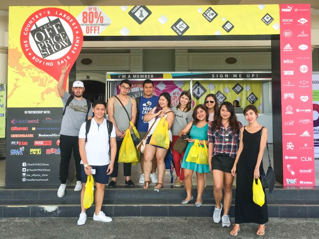 Davao Bloggers at The Off Price Show 2016 Davao
