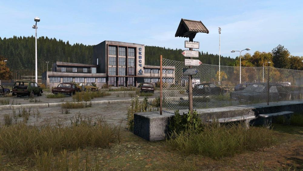Dayz patch 1.08 - The Saint Roman Ski Resort