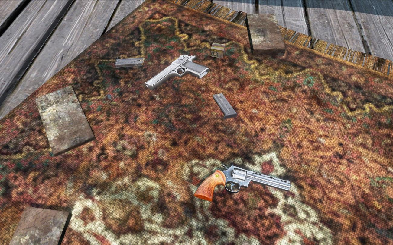 Dayz patch 1.09 new weapons - Deagle & Revolver