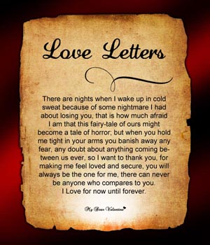 Sad Love Letters For Him Her