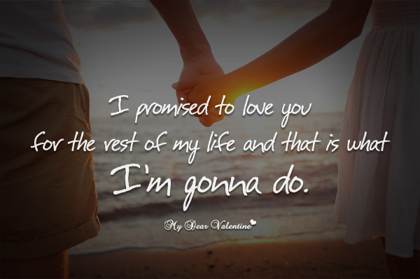 Promise To Love You Quotes. QuotesGram