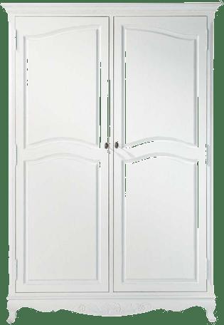 armoire josephine blanc en bois mydecolab