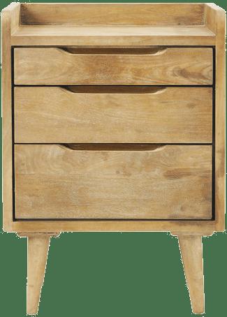 table de chevet vintage maison du monde