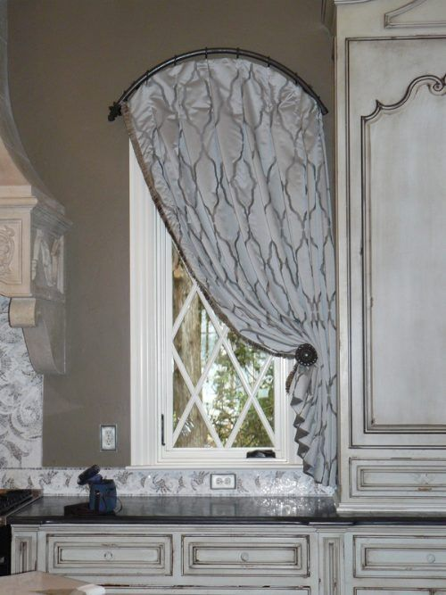 A Tale of a Bay Window Curtain Rod  My Decorating Tips