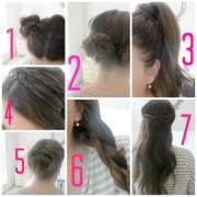 latest long hair step hairstyles