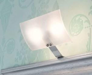 Faretto Luna con lampada alogena L 19.5 x P 11.5 x A 11.2 cm