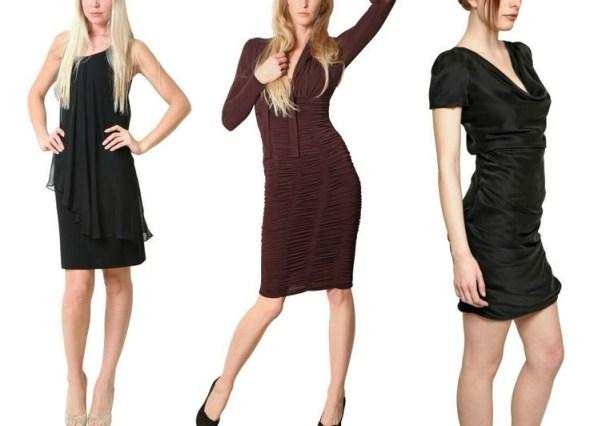 Eine perfekte Körperhaltung im Kleid