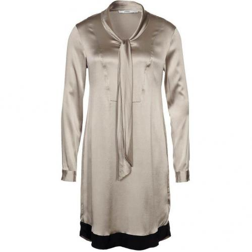 0039 Italy Babette Blusenkleid taupe
