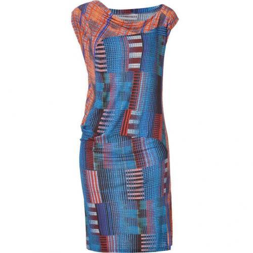 10 Crosby Derek Lam Blue/Orange Multi Dress
