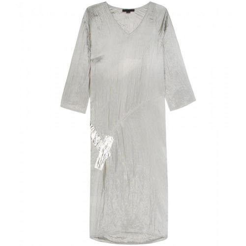 Alexander Wang Metallic Applique Dress