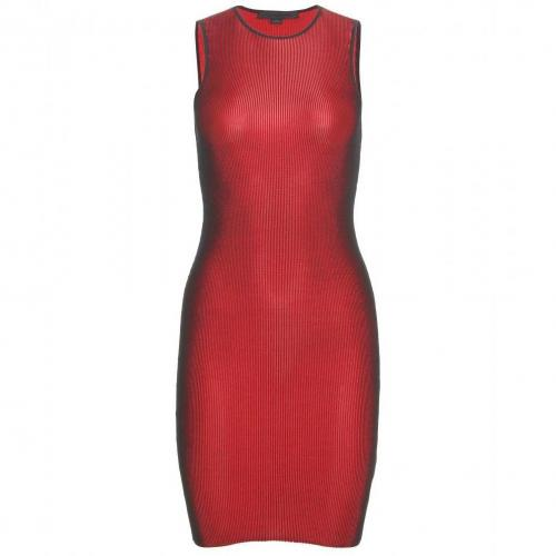 Alexander Wang Strickkleid Rot