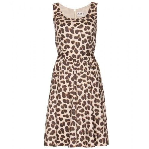 Alice by Temperley Felina Kleid Mit Animal-Print