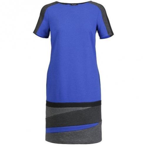 Apart Jerseykleid blau