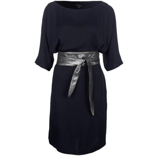 Axara Cocktailkleid / festliches Kleid grau blau