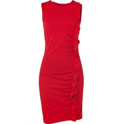Azzaro Scarlet Melodico Knit Dress