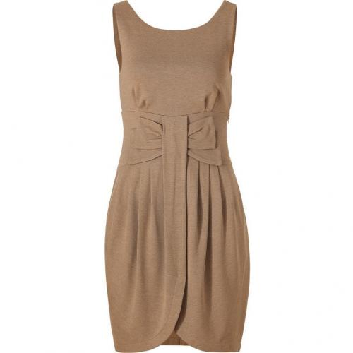 Bailey 44 Camel Heather Jersey Party School Dress