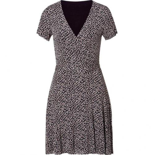 Bailey 44 Trench/Black Printed Décolleté Dress