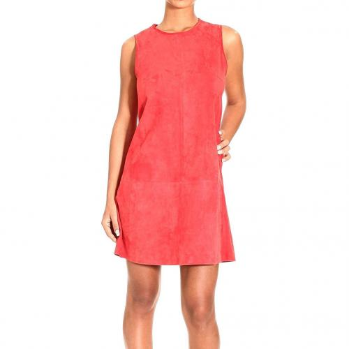 Balenciaga Sleeveless suede dress