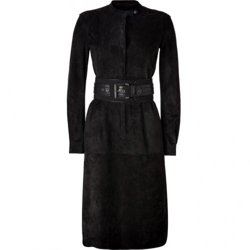 Belstaff Carbon Suede Enfield Dress