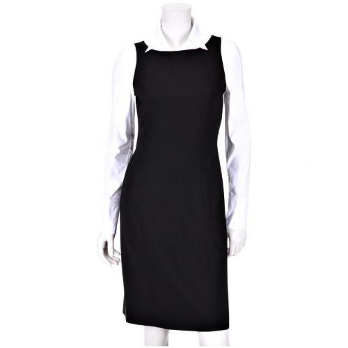 Blacky Dress Etuikleid Schwarz, Arme weiß