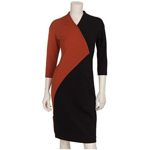 Blacky Dress Jerseykleid Schwarz