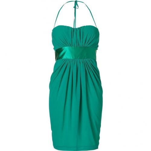 Blumarine Emerald Strapless Kleid