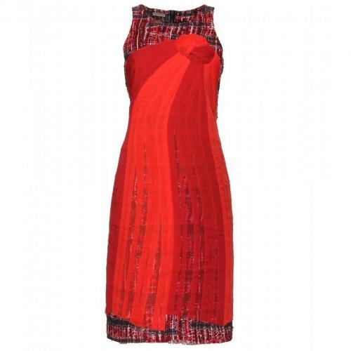 Bottega Veneta Kleid Aus Seide