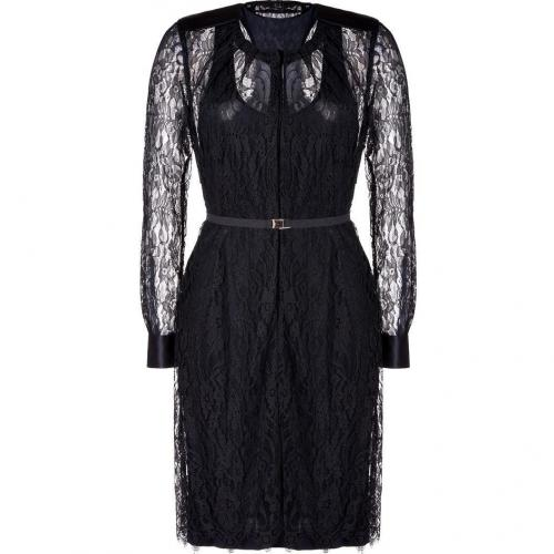 By Malene Birger Black Lace Nanaria Dress