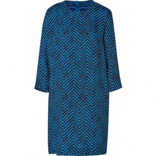 By Malene Birger Ocean Blue/Black Dalooni Dress