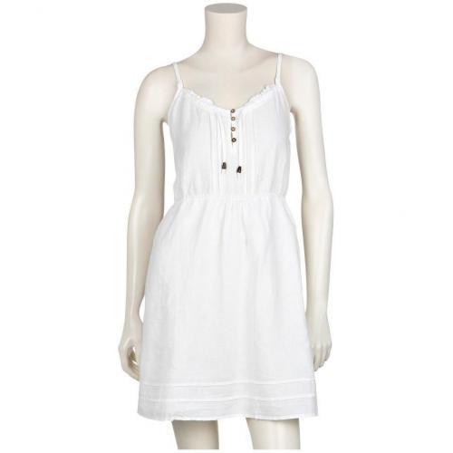 Campus® Leinenkleid Weiß