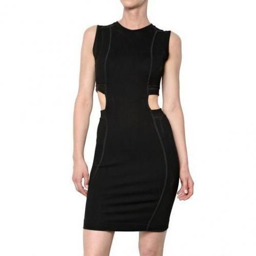 Carven Milano Stitch Stretch Ausschnitt Kleid