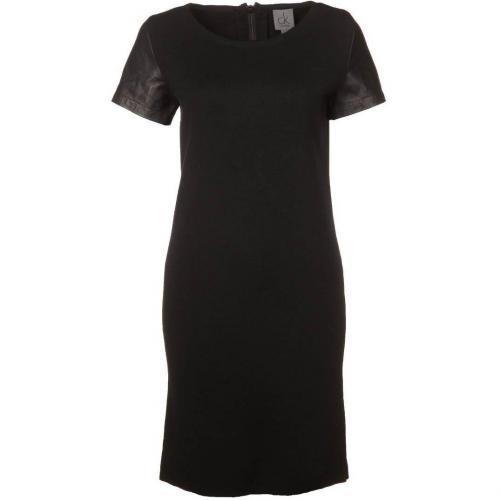 Ck Calvin Klein Jerseykleid black Rücken Reißverschluss