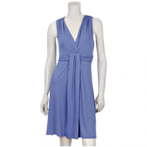 Comma Jerseykleid Blau