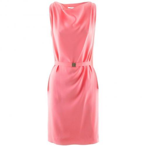Diane von Furstenberg Coral Pink Dress Bebe