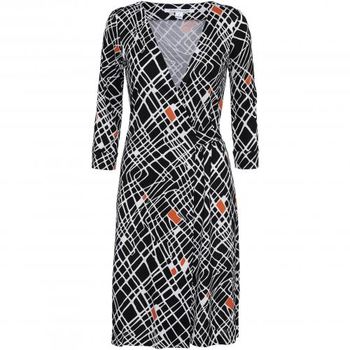 Diane von Furstenberg Wickelkleid New Julian Two bunt