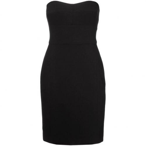 Dkny Cocktailkleid / festliches Kleid schwarz Schulterfrei