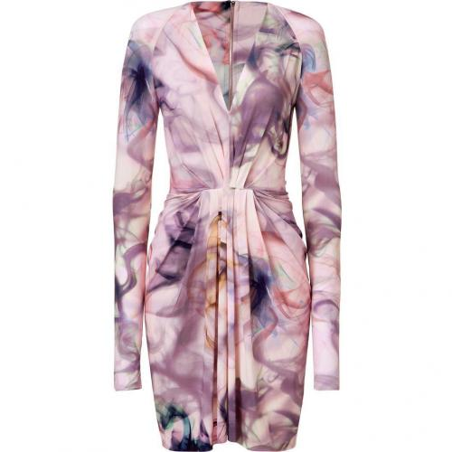 Emanuel Ungaro Rosa Multi Color Printed Kleid